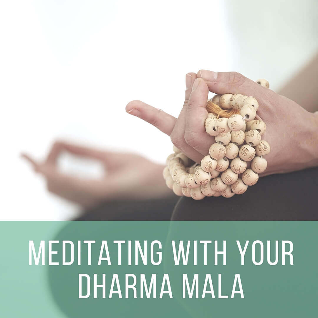 Meditating With Your Mala | DharmaMalas.com