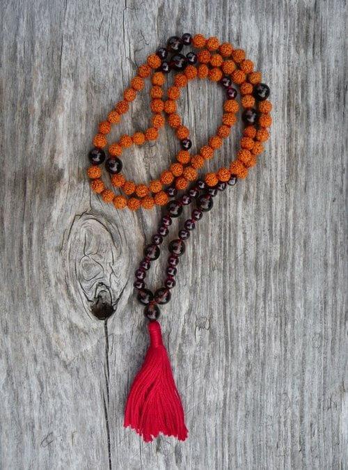 Garnet Mala - Dharma Malas