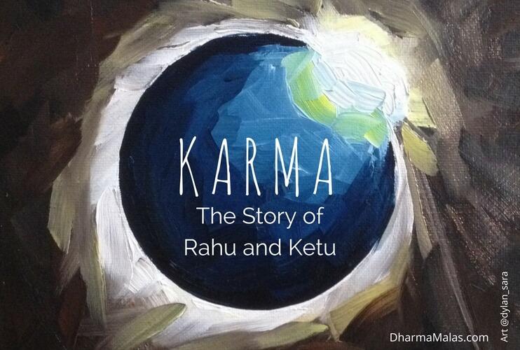 KARMA: The Story Of Rahu and Ketu | Vedic Astrology | Dharma Malas