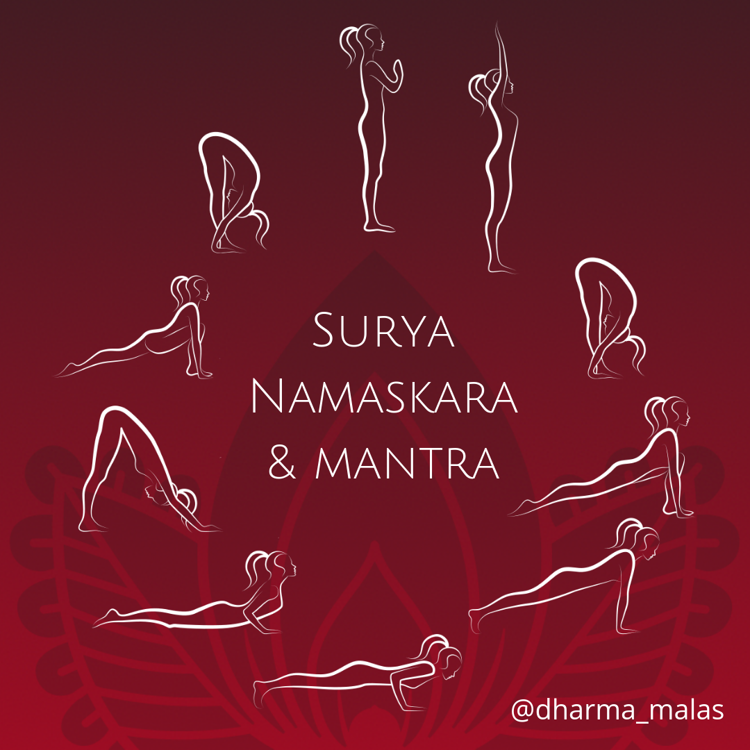 Sun Salutations and Mantra - Turning Sun Salutations Into